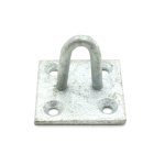 "2"" Staple On Square Plate 