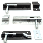 Sliding Tower Bolt | EXB / Galvanised | Straight & Necked