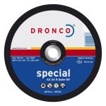 Dronco 115MM x 3MM x 22.23MM Metal Cutting Disc | 4.1/2"