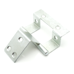Double Cranked Cabinet Hinge | 59MM | Zinc Plated