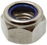 Metric Nyloc Nut | Stainless Steel A2/A4-70 | DIN985