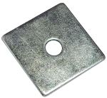 Metric Square Plate Washer | Zinc Plated