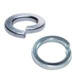 Metric Square & Rectangular Spring Washer | Zinc Plated