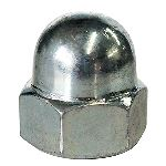 Metric Dome Nut | Zinc Plated | DIN1587