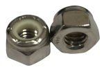 Imperial Hexagon UNC Nyloc Nut | Stainless Steel A2-70 | B16.6.3