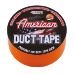 American Duct Tape | 50MM x 25Meter | Orange | Everbuild