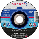Dronco 230MM x 1.9MM x 22.23MM Inox Metal Cutting Disc | 9"