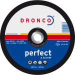 Dronco 300MM x 3.5MM x 20MM Metal cutting disc | 12"