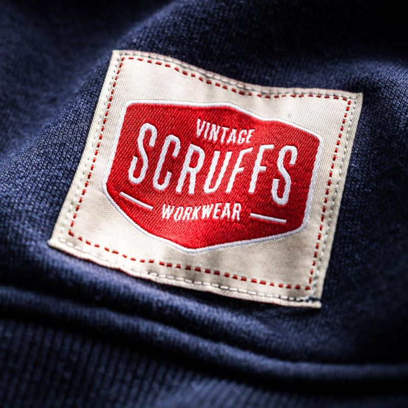 Vintage Zip Thru Fleece (Blue) | Scruffs