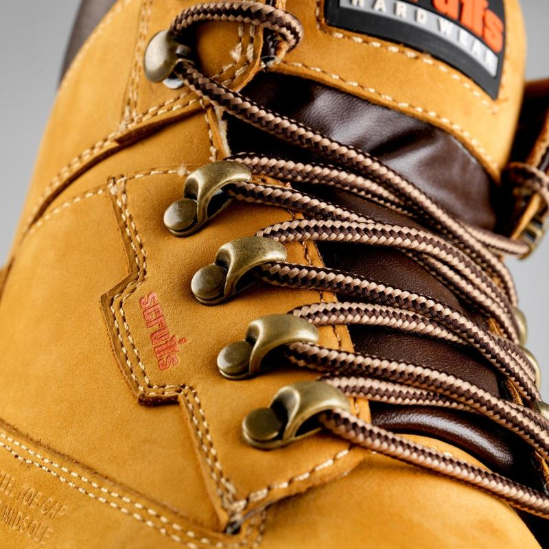 Twister Sport (Tan) Safety Boots | Scruffs